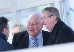 Gerry Duffy and Archbishop Diarmuid Martin