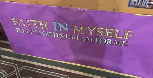 Faith in myself banner
