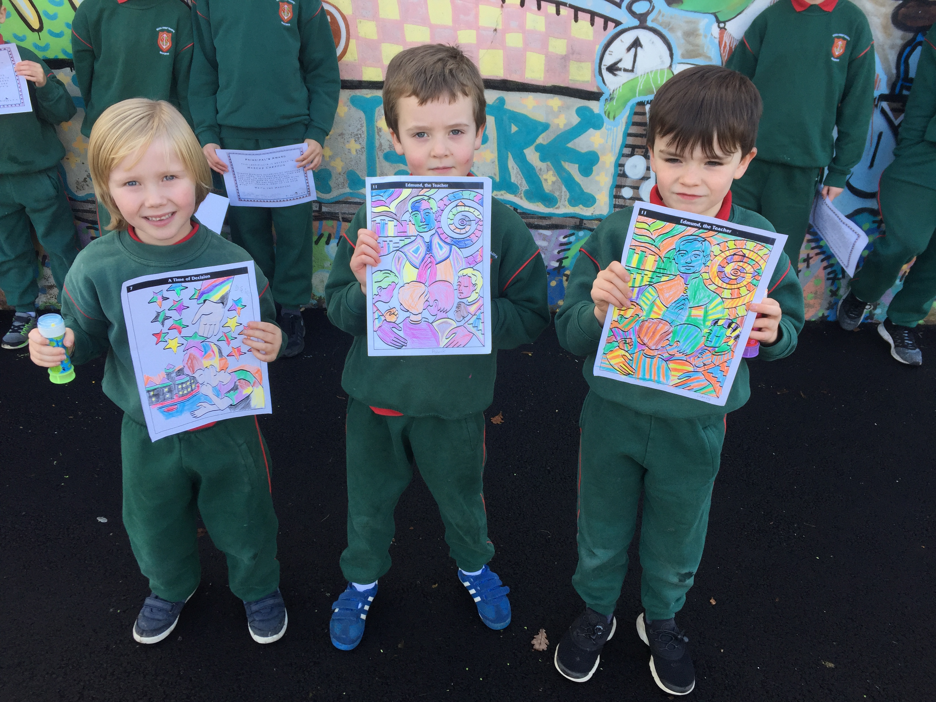 St Joseph's Presentation Day Art and Poetry Competition