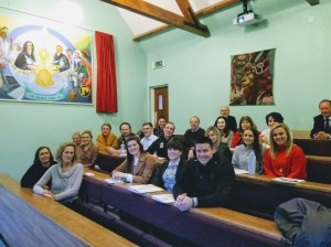 Attendees at Induction 2018-19 (photo)