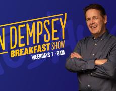Ian Dempsey Radio Show visit to Greenmount NS