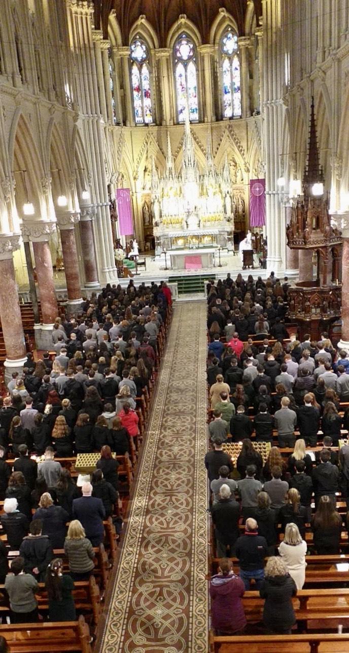 November 2019 School Mass in Coláiste Muire